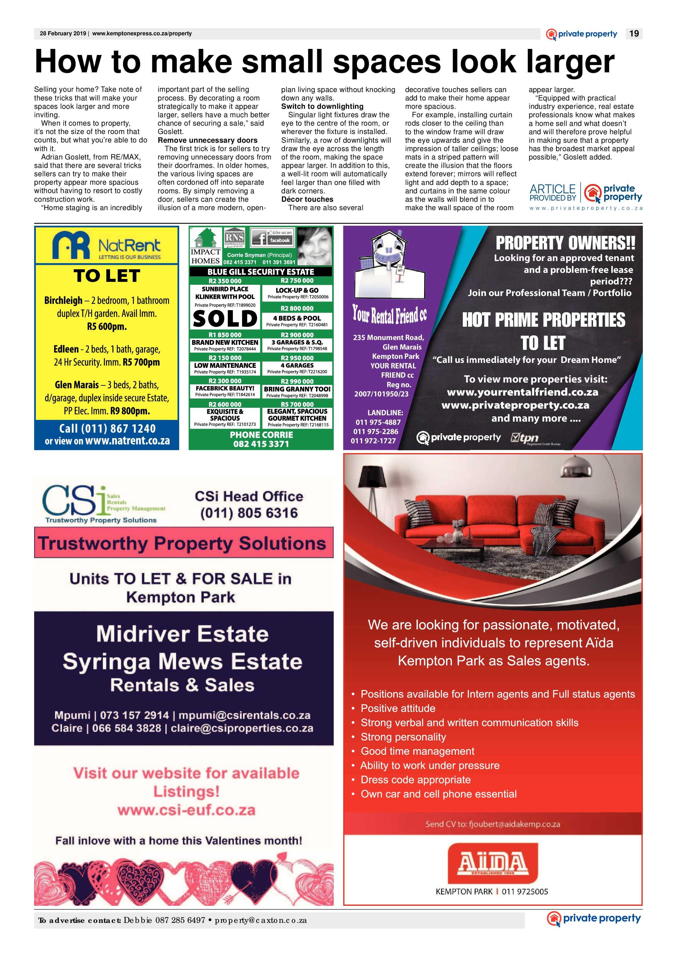 Kempton Express 28 February 2019 | Kempton Express